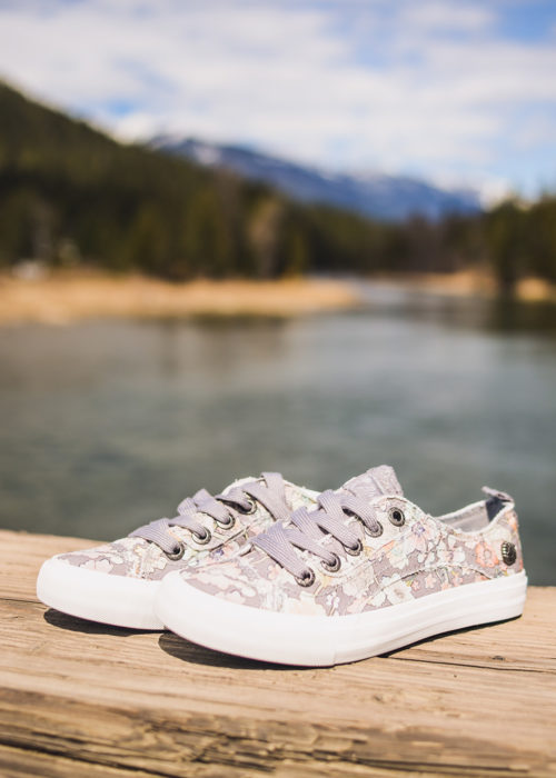 Blowfish Merci Gypsy Gray Shoes by Nomads Hemp Wear. Vegan sneakers and shoes