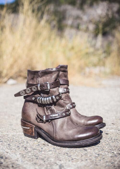 AS98 Italian Leather Mayhem Boots : Nomads Hemp Wear