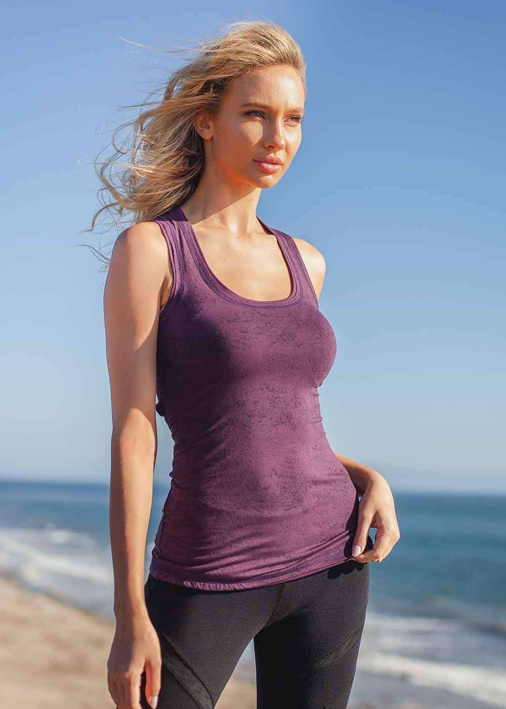 Aeon Tank in Organic Cotton and Bamboo by Nomads Hemp Wear