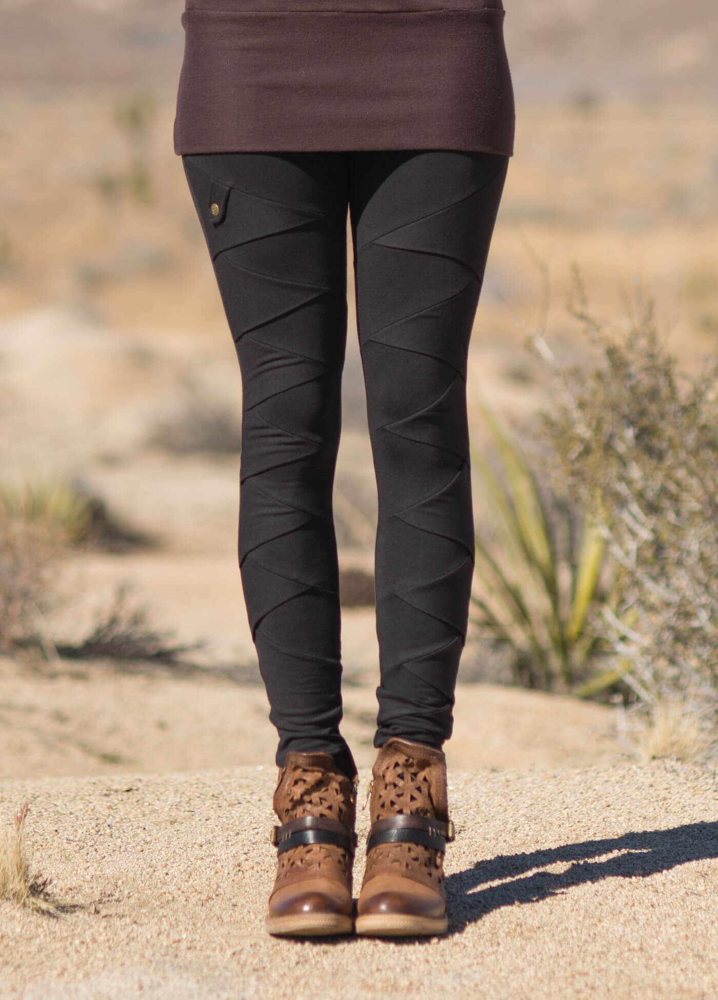 Albacore Leggings in Bamboo & Organic Cotton by Nomads Hemp Wear