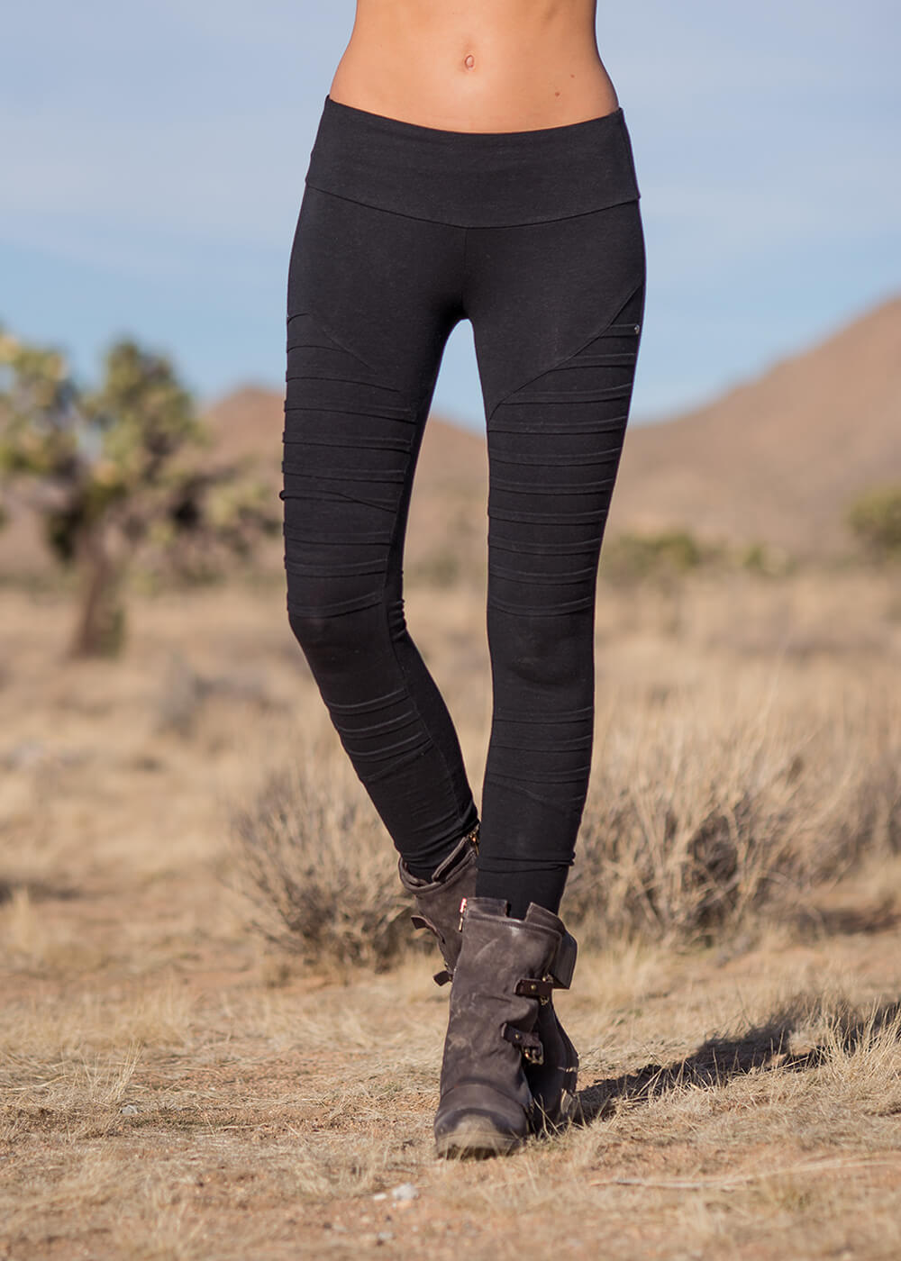 Analog Leggings in Bamboo & Organic Cotton - Nomads Hemp Wear