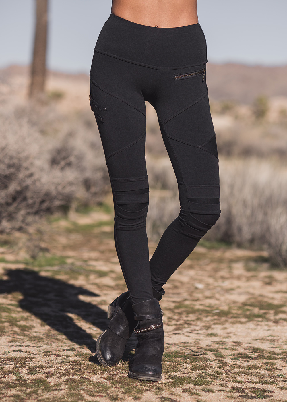 Apocalypse Leggings in Organic Cotton & Bamboo - Nomads Hemp Wear
