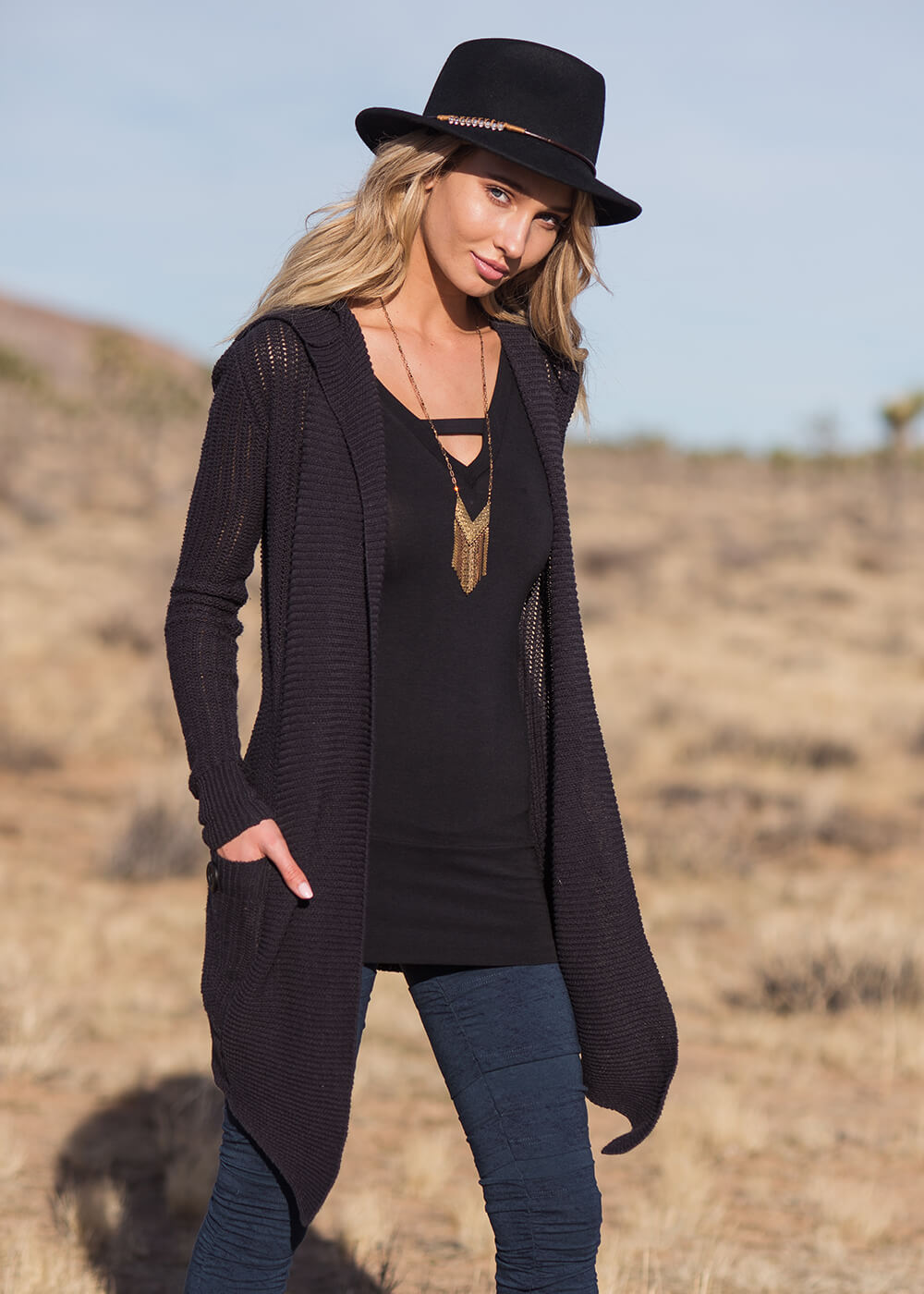 Avalong Cardigan in Hemp & Organic Cotton - Nomads Hemp Wear