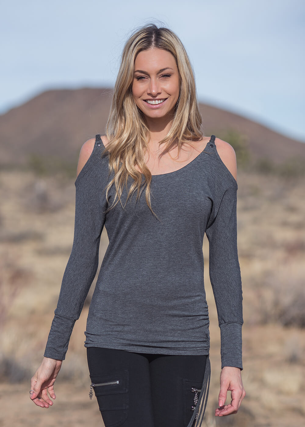 Celeste Tunic in Organic Cotton & Bamboo - Nomads Hemp Wear
