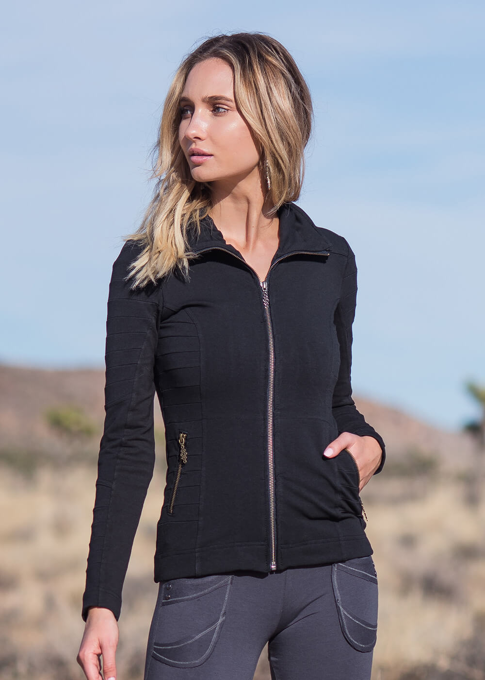 Evo Jacket in Organic Cotton & Bamboo - Nomads Hemp Wear