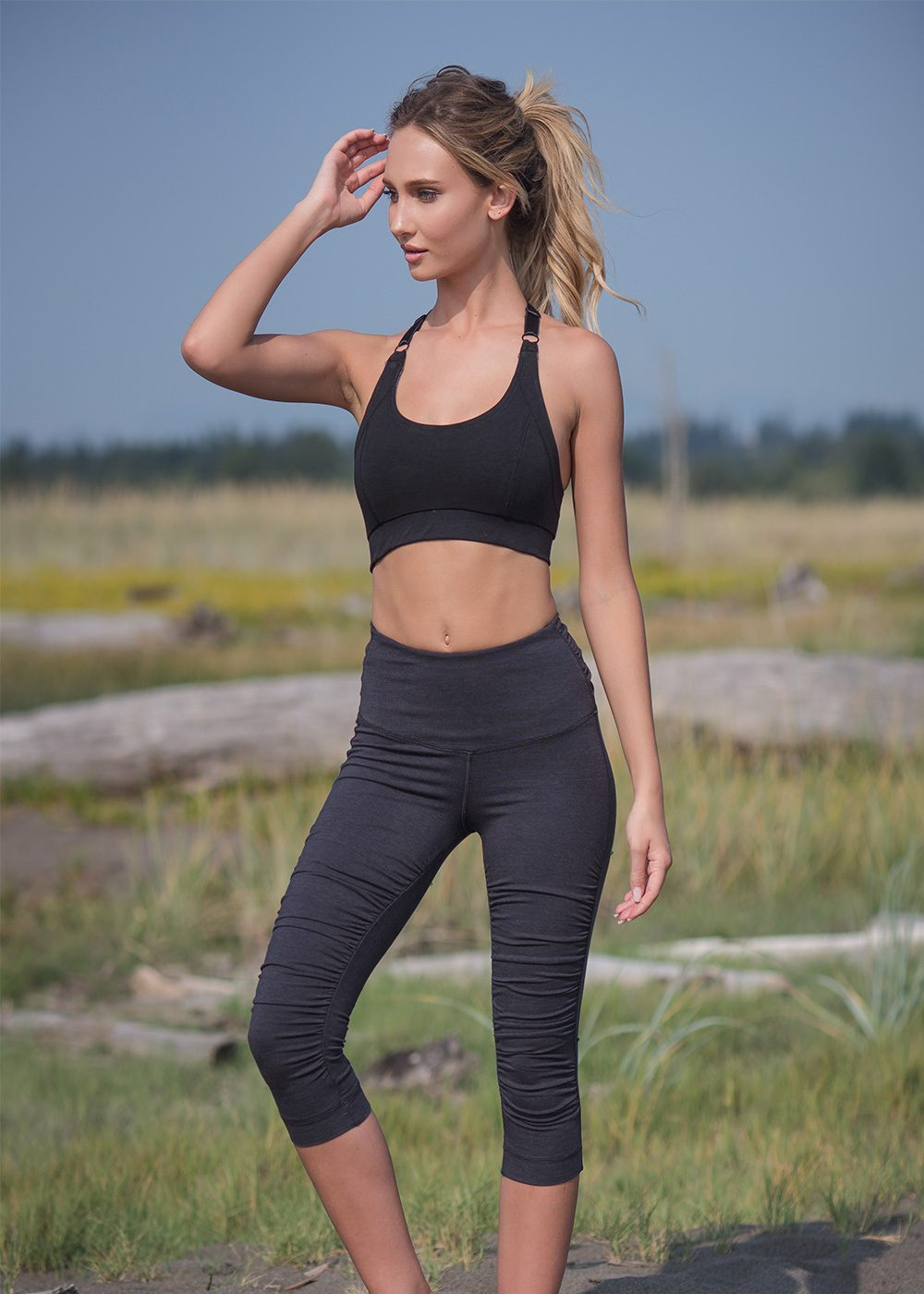 Flex Leggings in Organic Cotton & Bamboo - Nomads Hemp Wear