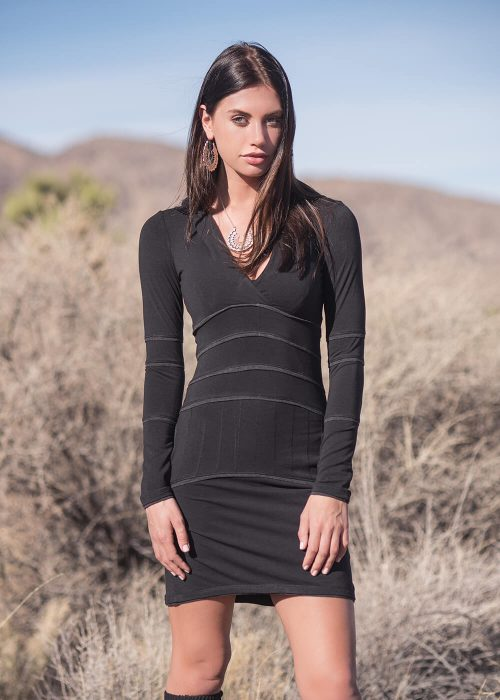 Inspire Dress in Organic Cotton & Bamboo - Nomads Hemp Wear