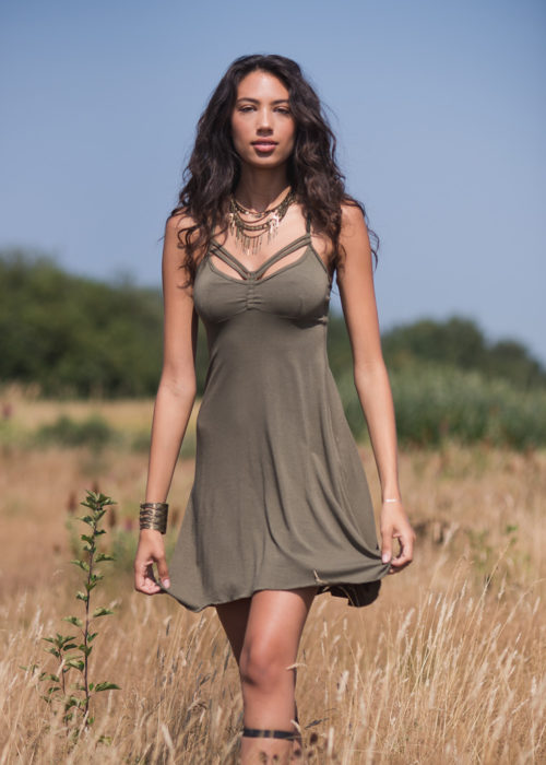 Kalisi Dress in Organic Cotton & Bamboo - Nomads Hemp Wear