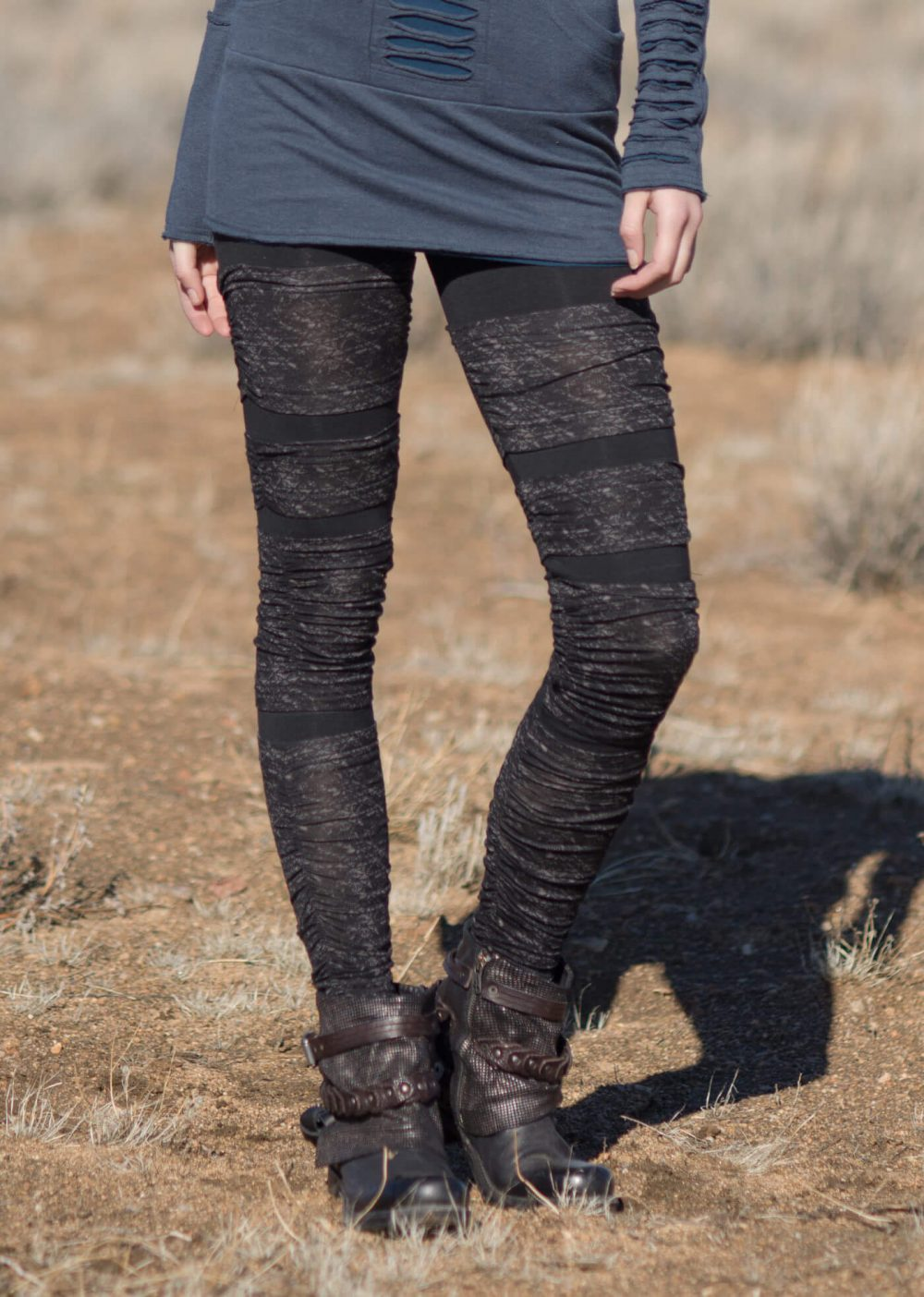 Kryptic Leggings in Bamboo & Organic Cotton by Nomads Hemp Wear