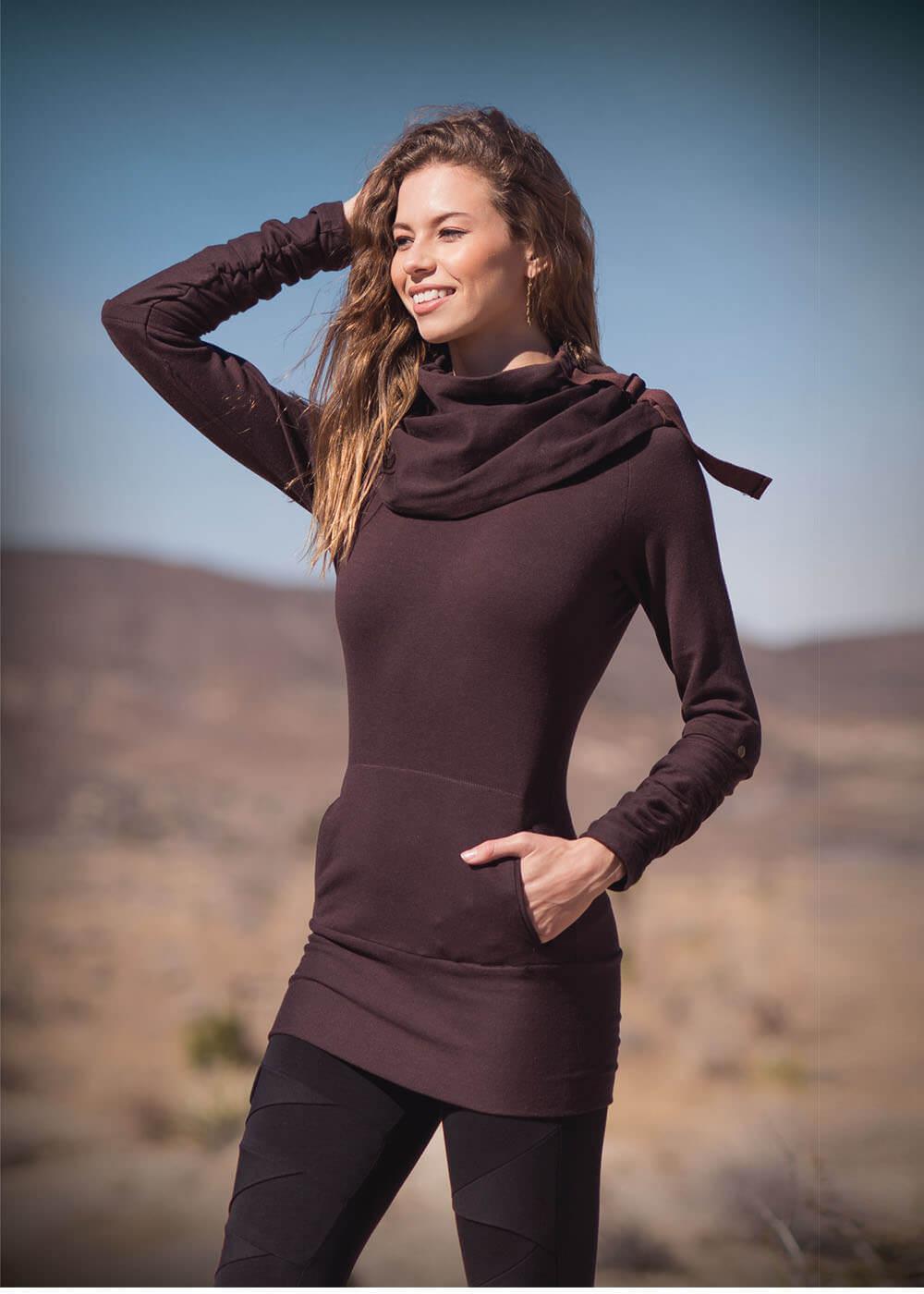 Merkaba Tunic in Hemp & Organic Cotton by Nomads Hemp Wear