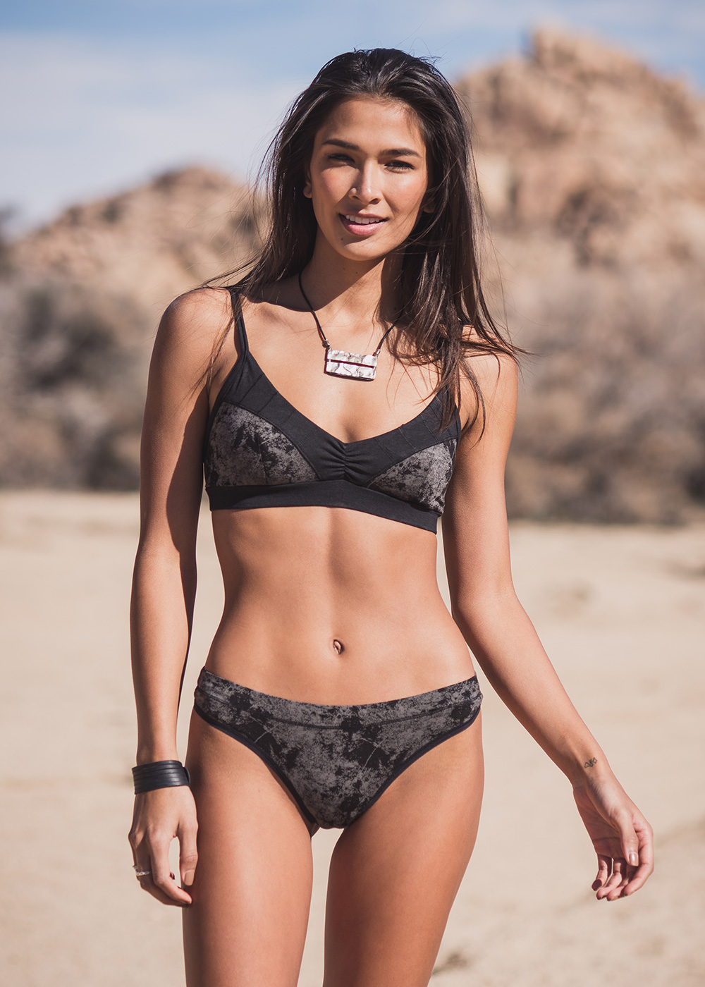 Naked organic cotton and bamboo bra by Nomads Hemp Wear