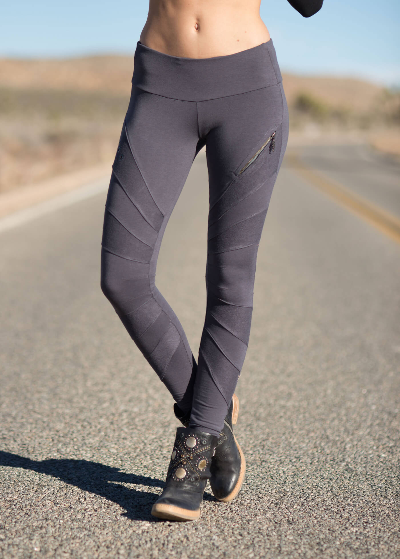 Octavia Leggings in Bamboo & Organic Cotton | Nomads Hemp Wear