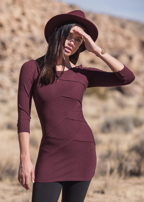 Prizm Tunic in Bamboo and Organic Cotton by Nomads Hemp Wear