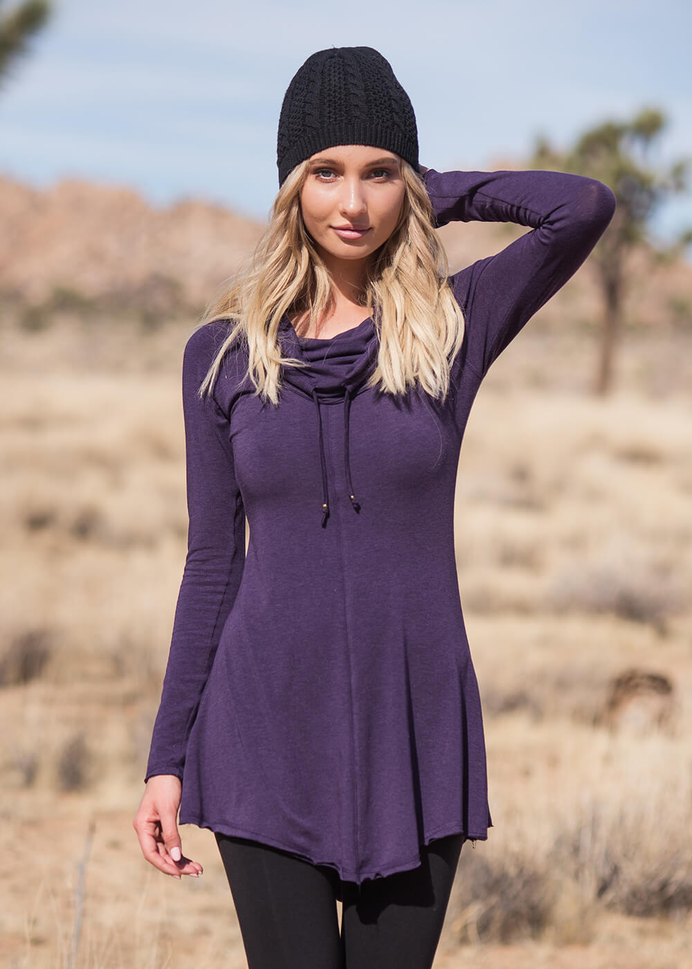 Prophecy Tunic in Organic Cotton & Bamboo - Nomads Hemp Wear