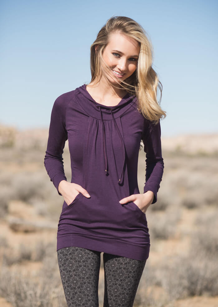 Saturn Tunic in organic cotton & bamboo by Nomads Hemp Wear