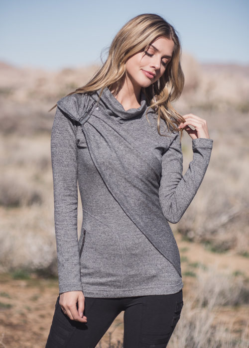 Venus Sweater in organic cotton and hemp by Nomads Hemp Wear