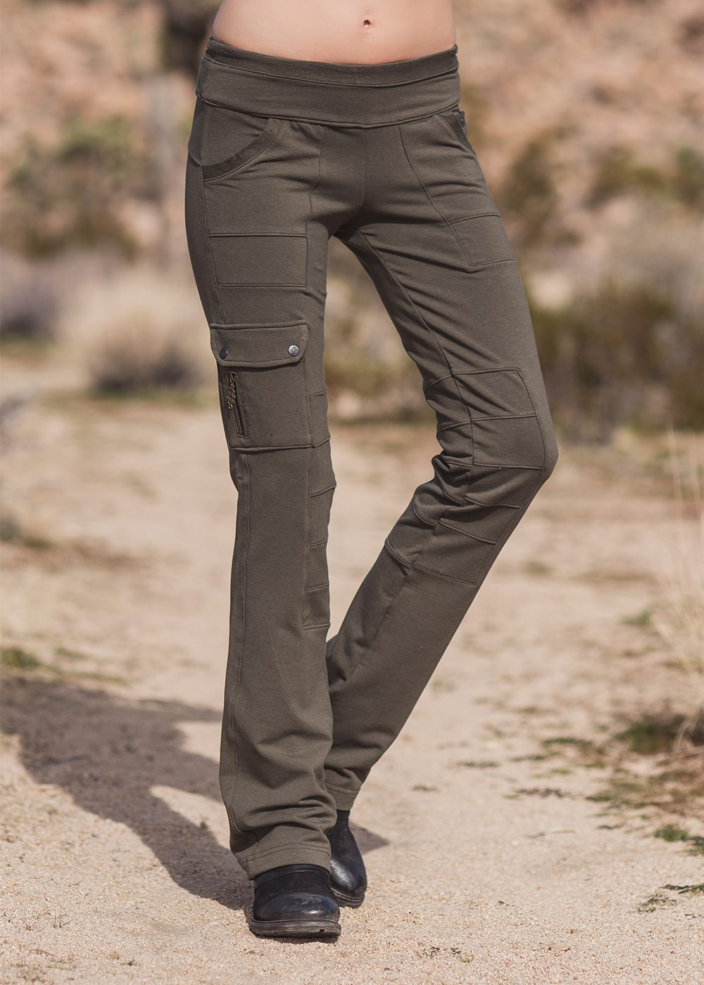 Wander Pants in Organic Cotton & Bamboo Terry - Nomads Hemp Wear