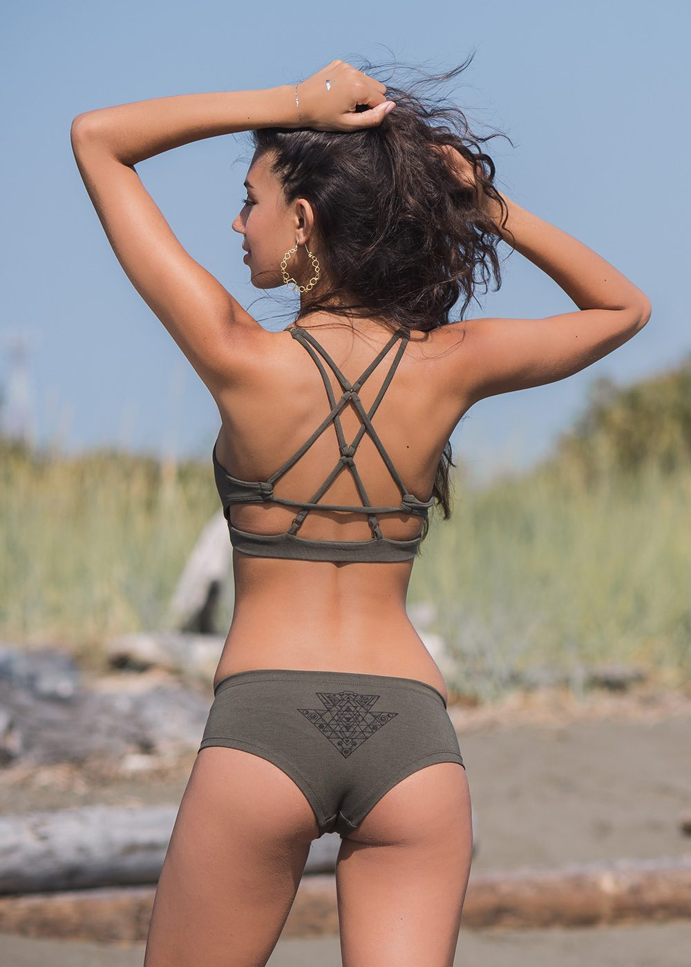 Yantra Bra in Organic Cotton & Bamboo - Nomads Hemp Wear