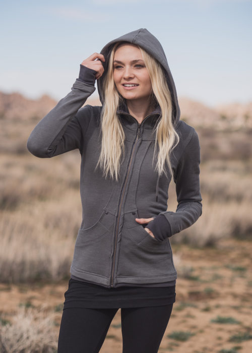 Continuum Hoodie in Organic Cotton Terry - Nomads Hemp Wear