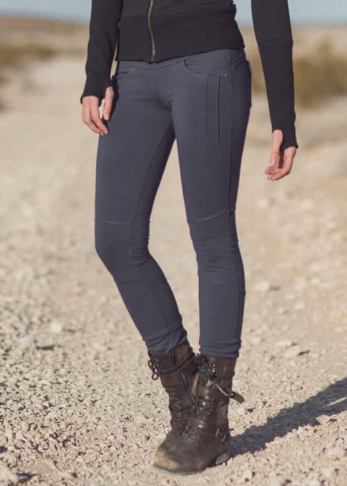 Escape Pants in black Soy & Organic Cotton - Nomads Hemp Wear