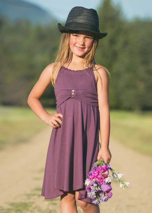 Kid Bonita Dress in Sustainable Bamboo - Nomads Hemp Wear