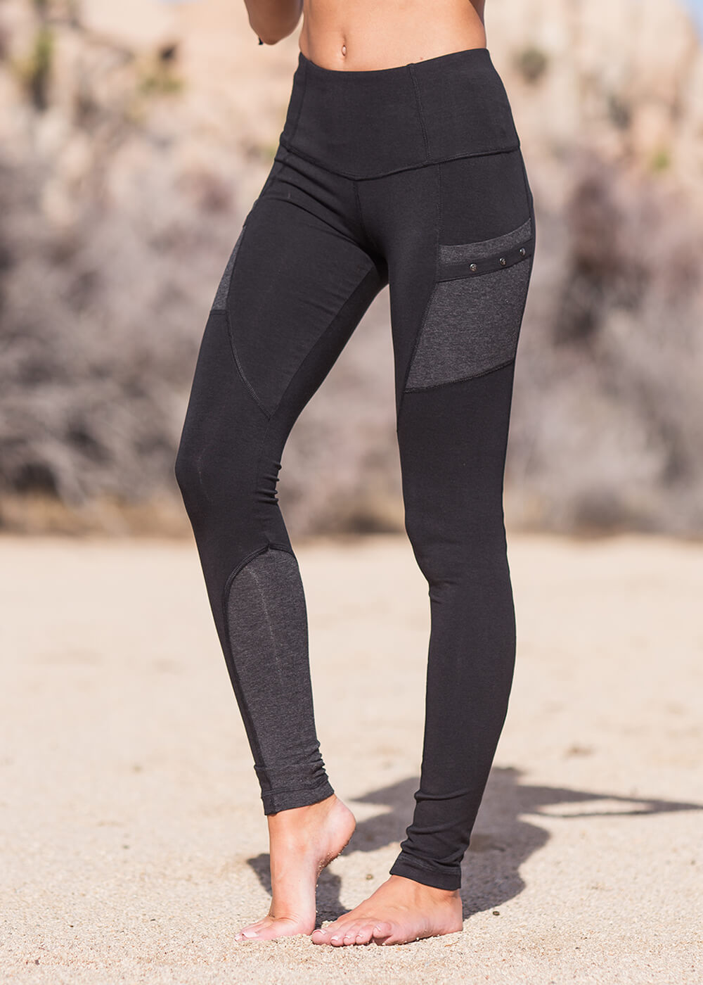 Motion Leggings in Organic Cotton & Bamboo - Nomads Hemp Wear