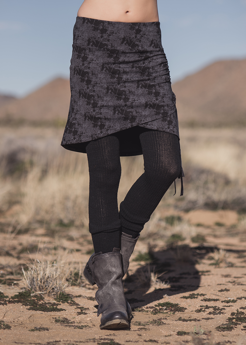 Stellar Skirt in Organic Cotton & Bamboo - Nomads Hemp Wear